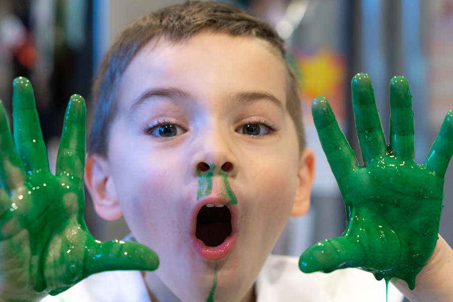 Gross Science Projects Fake Snot Slimy Booger Hands