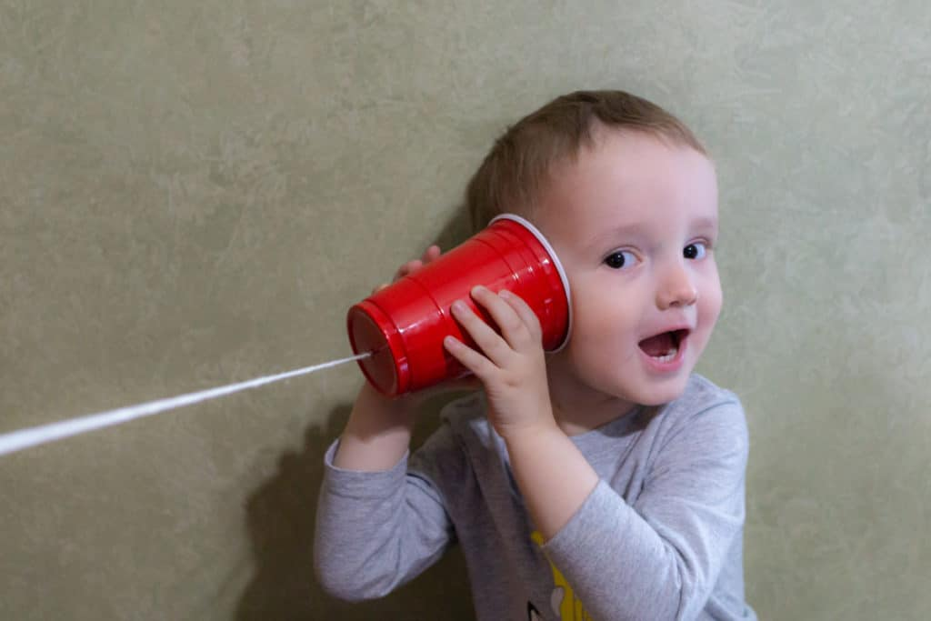 Experiments with Sound - Plastic Cup Phone