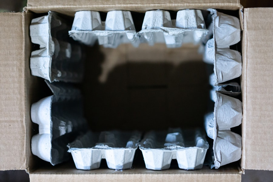 Projects with Sound - Soundproof box with Egg Cartons