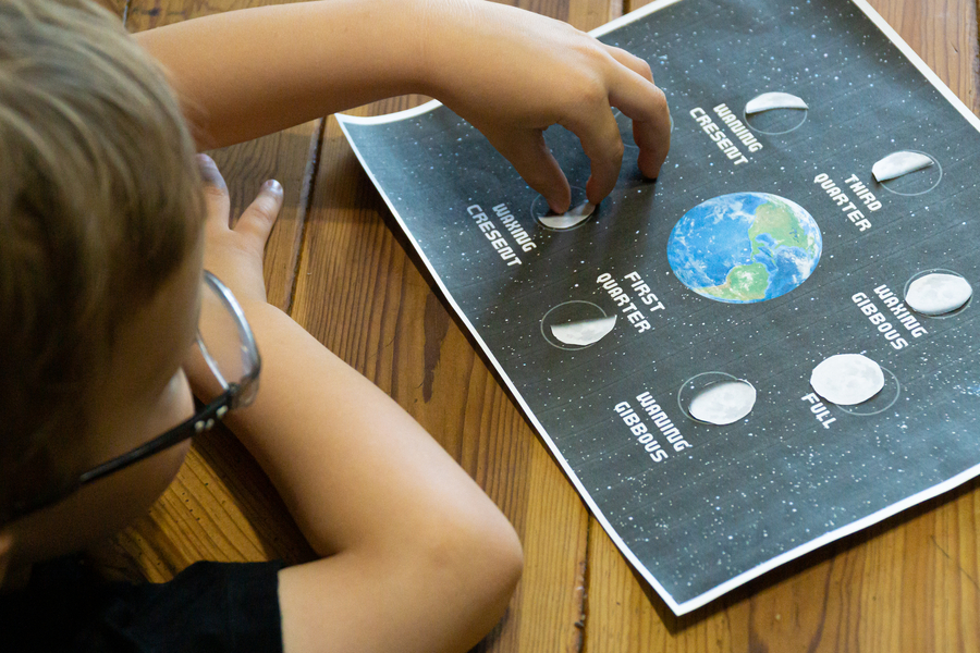 Space Printables - Phases of the Moon