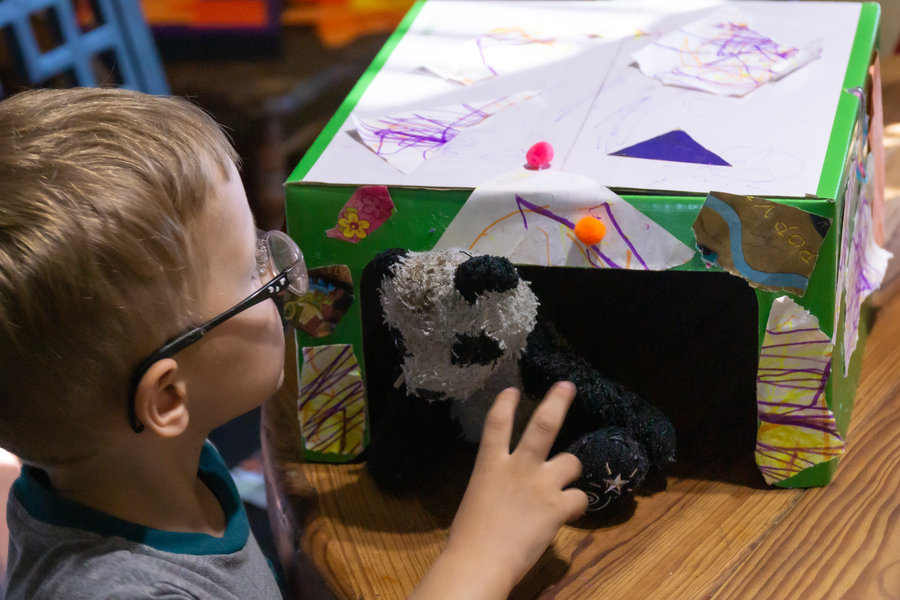 Glue Activities - Animal Shelters
