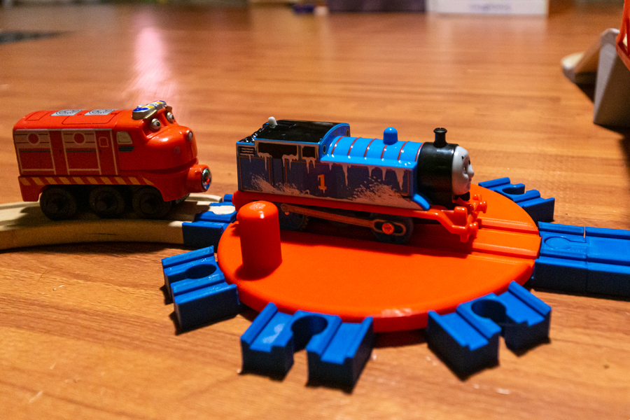 3D Printed Train Track Pieces
