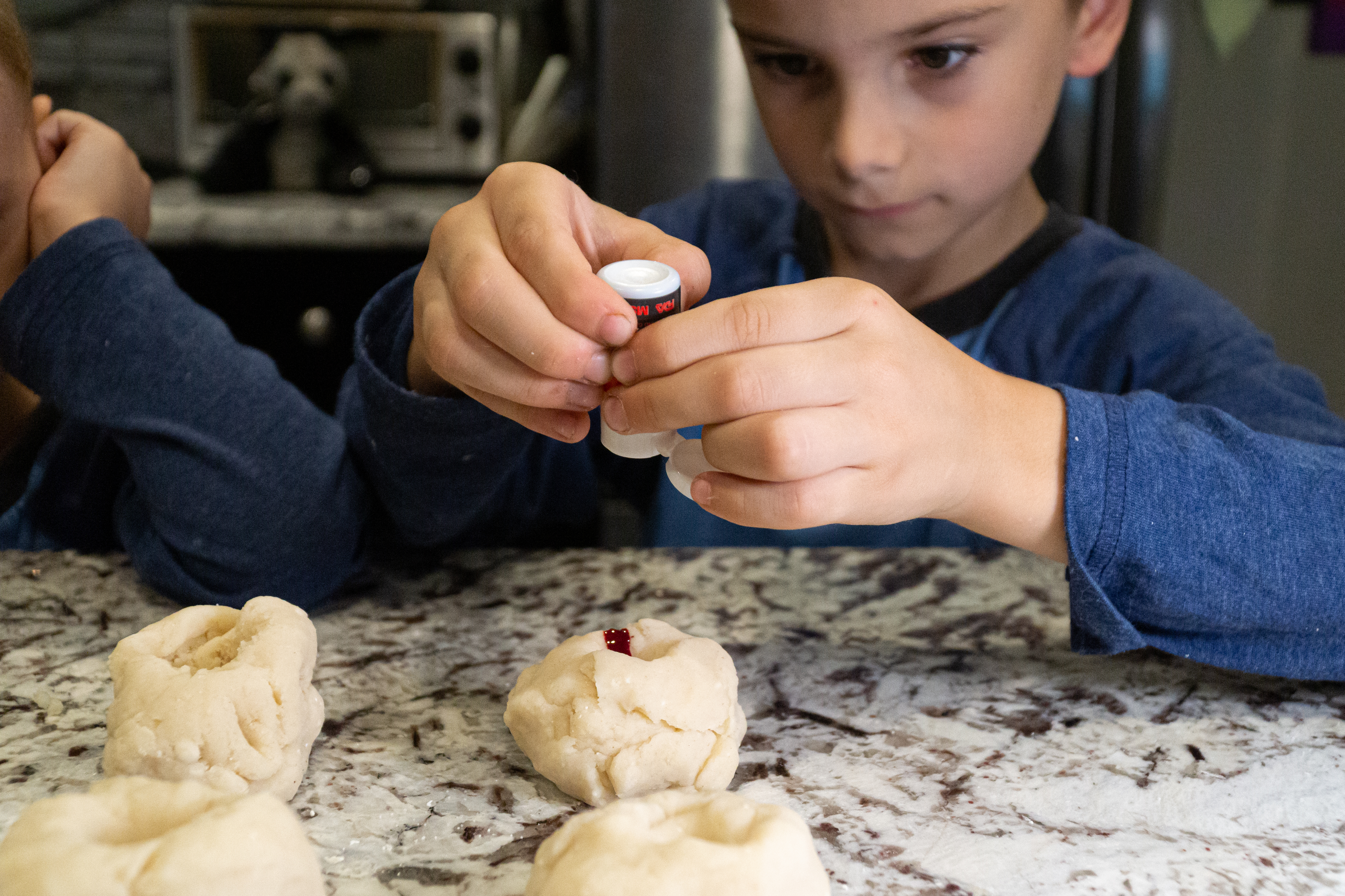 Home Made Playdough - Add Food Coloring